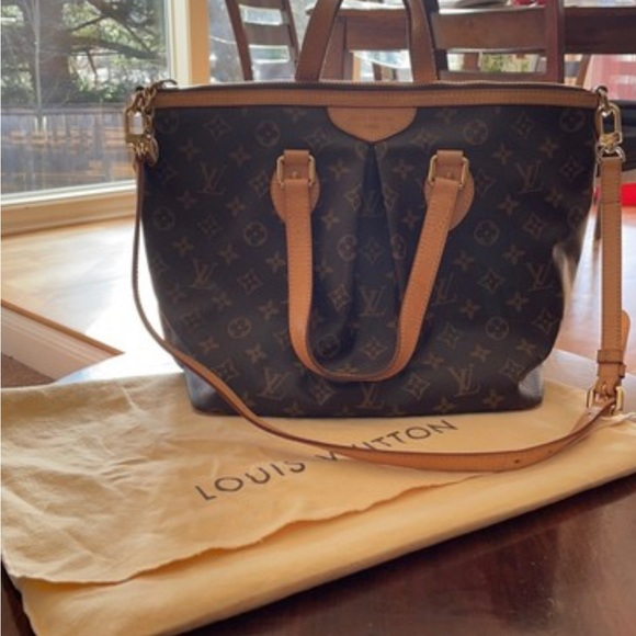 Louis Vuitton Palermo Monogram Canvas Tote